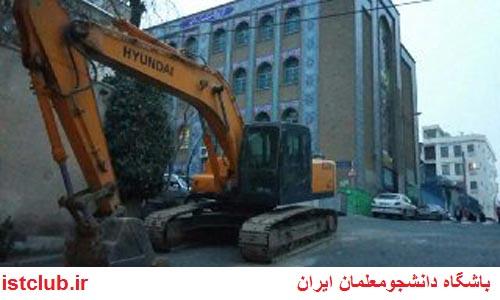 دیوارهای مدرسهای در پایتخت تخریب شد