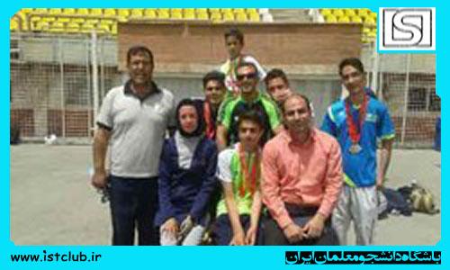 کسب 6 مدال نقره دانش آموزان نابینای سمنانی در مسابقات کشوری دوومیدانی